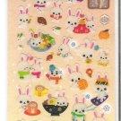 Crux Rabbit in Winter Sparkly Sticker Sheet