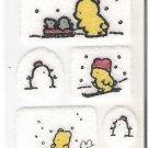 San-X Pinny Mu'S Winter Felt Mini Sticker Sheet