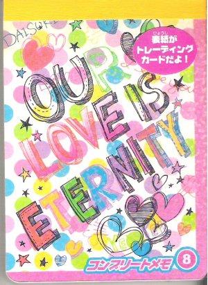 Youmec Our Love is Eternity Mini Memo Pad