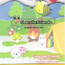 Mind Wave Usacolle Friends Rabbit Pills Diecut Mini Memo Pad