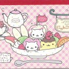 San-X Nyan Nyan Nyanko Sundae Desserts Memo Pad