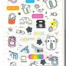 Crux Happy Cell Phone and Friends Sticker Sheet