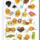 Crux Natto Chan White Sticker Sheet