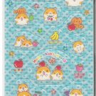 Crux Hamu Chan World Fruits Holographic Sticker Sheet