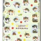 Q-Lia Army Kohamu Sticker Sheet