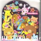 Pool Cool Bear's Friends Piano Sticker Sack