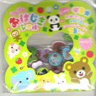 Q-Lia Kawaii Animal Friends and Clovers 3D Sticker Sack