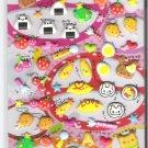 Crux Kawaii Bento Lunch Puffy Sticker Sheet