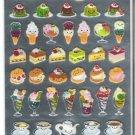 Crux Smiling Desserts and Sundaes Hard Epoxy Sticker Sheet