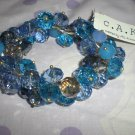 Cake by Ali Khan Shades of Blue Bracelet
