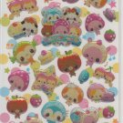 Crux Fruity Dessert Friends Sparkly Sticker Sheet