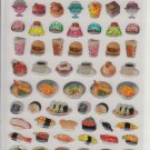 Crux Real Japanese Food Sparkly Sticker Sheet