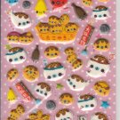 Crux Takoyaki Seal Puffy Glittery Sticker Sheet