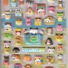 Kamio Panda Mart Supermarket Foods Puffy Sticker Sheet