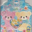 Crux Cutie Bear Blue Ribbon Sticker Sack