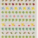 Mind Wave Birds, Clovers, and Bees Sparkly Sticker Sheet