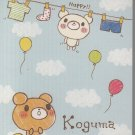 Crux Koguma Time Laundry Mini Memo Pad