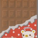 Crux Sweet Bear Chocolate Bar Mini Memo Pad