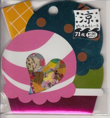 Mind Wave Ice Cream Diecut Sticker Sack