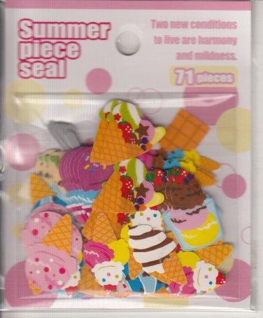 Mind Wave Ice Cream Desserts Summer Sticker Sack