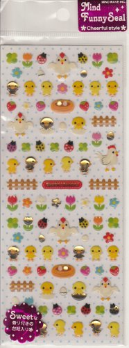Mind Wave Spring Chick Chick Sticker Sheet