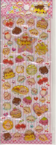 Crux Pudding and Custard Friends Sticker Sheet