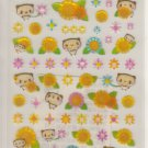 Q-Lia Pandas and Sunflowers Sparkly Sticker Sheet