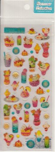 Mind Wave Summer Desserts Special Collection Sparkly Sticker Sheet