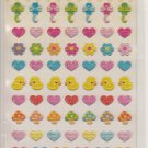 Lemon Co. Ducks, Hearts, and Mushrooms Mini Sticker Sheet