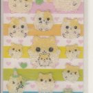 Lemon Co. BIrthday Hamster Friends Grainy Mini Sticker Sheet