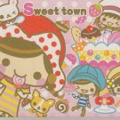 Crux Sweet town Girlfriends Desserts Mini Memo Pad