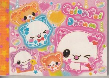 Crux Colorful Dream Animal Friends Mini Memo Pad