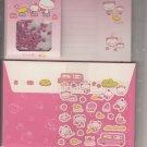 San-X Momo Panda Onsen Hot Springs Fun with Scented Beads Letter Set
