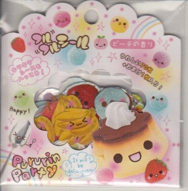Q-Lia Pururin Party Pudding Sticker Sack