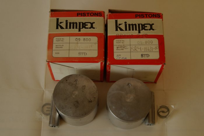 YAMAHA 8R4-11631-00-96 Brovo 250 Piston Kits KIMPEX