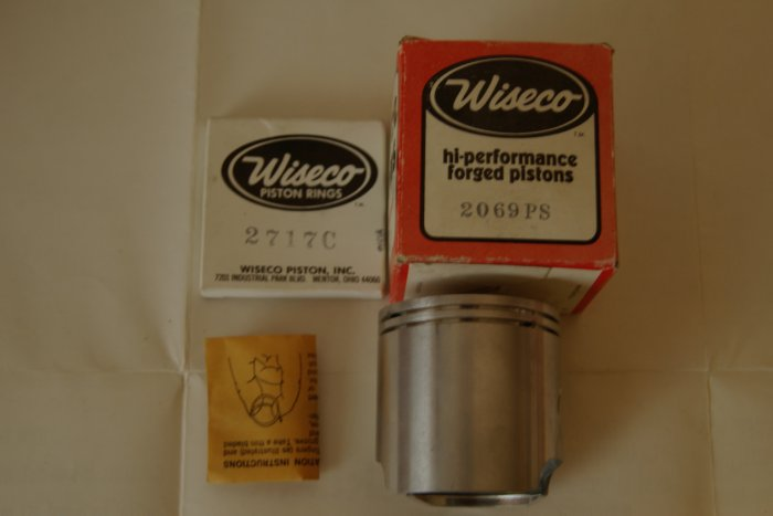 Wiseco Piston Kit 2069 PS 68.86mm