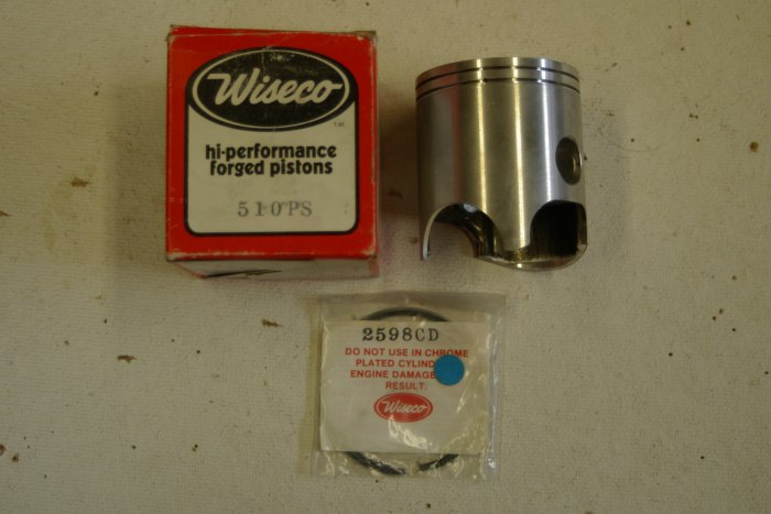 HONDA CR250R ATC250R Piston Kit Wiseco 510PS 66.00mm