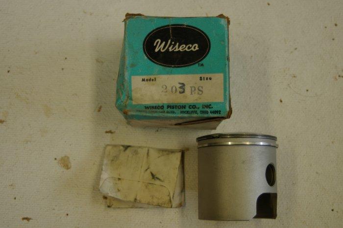 CZ 125 Piston Set std WISECO 203 PS 54.95mm Vintage MX