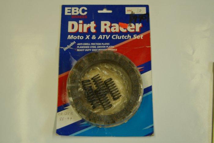 EBC Dirt Racer Clutch Plate Set HONDA CR125R 1986 - 99