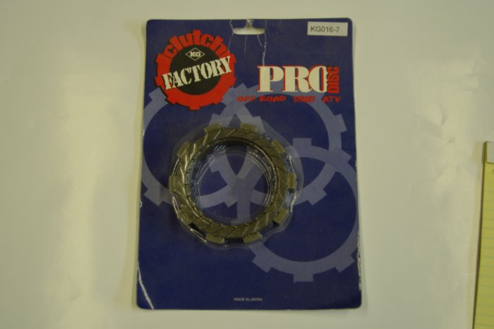 FACTORY PRO Disc Clutch Set KAWASAKI KX80 KX100