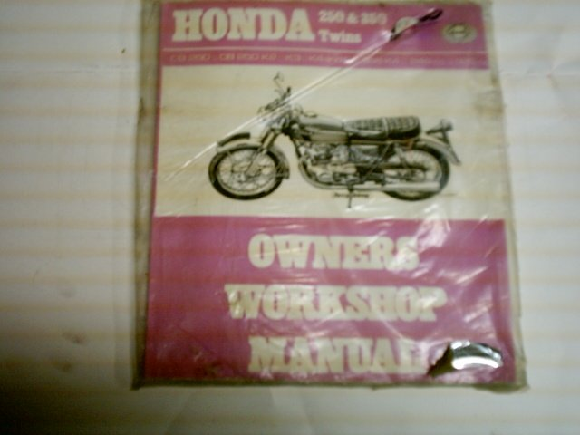 HONDA 250 350 Twins Owners Workshop Manual
