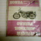 HONDA 250 350 Twins Owners Workshop Manual