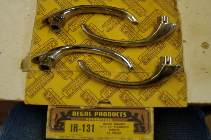 1941 47 PLYMOUTH Inside Handle Door (4 ) Regal IH-131
