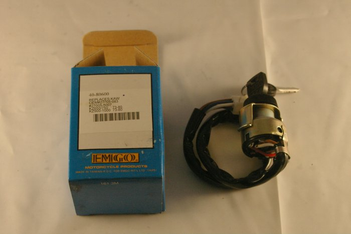 KAWASAKI KZ650 KZ750 KZ900 KZ1000 Ignition Switch 73 80