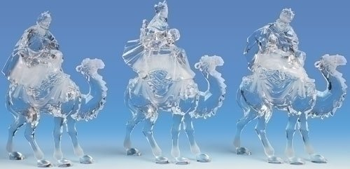 "3pc Set 11"" 3 Kings On Camel - 36450"