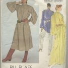 Vogue Designer Sewing Pattern Bill Blass #2840 Great Tunic Dress