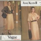 Vogue Career Anne Klein Sewing Pattern #2524 Sizes 18-20-22