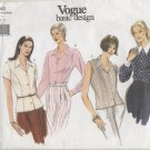 Vogue Basic Design Sewing Pattern 4 Blouses #1642 Sizes 18-20-22