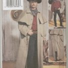 Men's Western Duster Coat Butterick Sewing Pattern 3830  L-XL