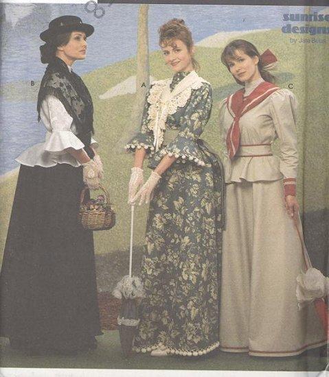 Mary Poppins Costume Sewing Pattern Simplicity 8375 Titanic Edwardian Era  Women's Sizes 18-22